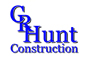 CR Hunt Construction Logo